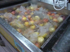 水果可以洗干净?