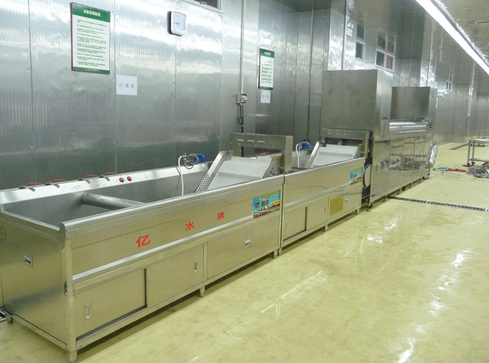 净菜配送中心用洗菜机