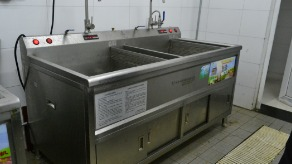 银行食堂洗菜机