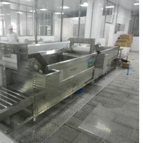 大长江集团用洗菜机