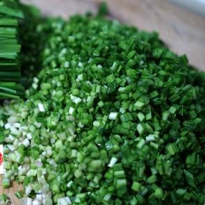 切菜机切韭菜