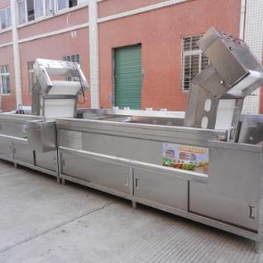 连续式洗菜机,广州佳可公司生产厂家
