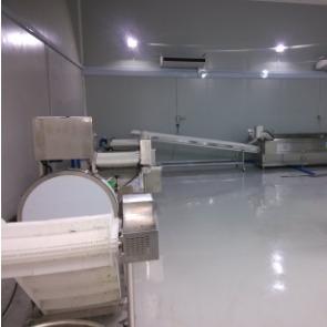 马来西亚加工中心洗菜机,自动流水线
