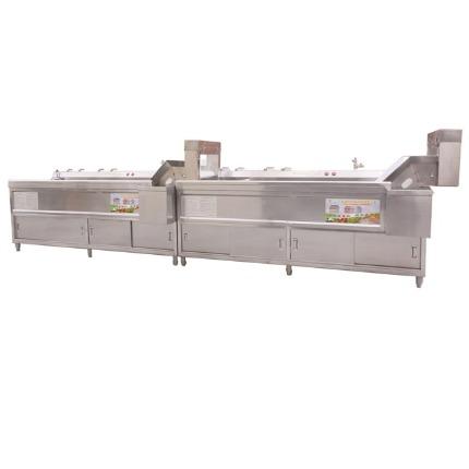 QXL2440两级自动连续式洗菜机,消毒洗菜机