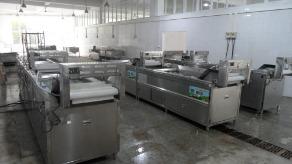 重庆西南大学洗菜机,自动连续式洗菜机,亿水牌