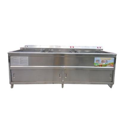 QX3-2600 三缸消毒洗菜机,亿水牌
