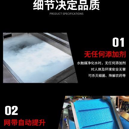 商用连续式水触媒净化机